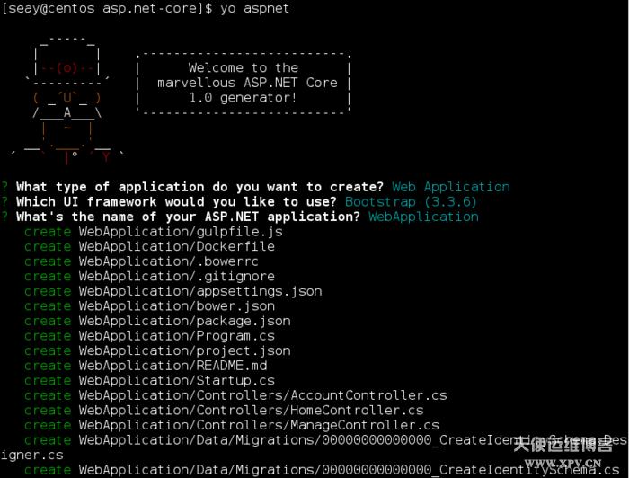CentOS 7上安装ASP.NET Core R2